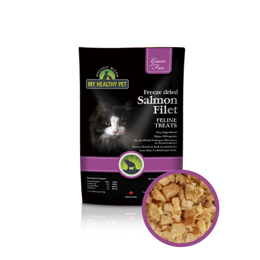 【Holistic Blend】FREEZE DRIED SALMON FILET