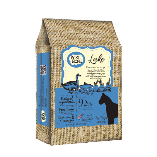 【 WISH BONE 】Grain Free Lake For Dogs