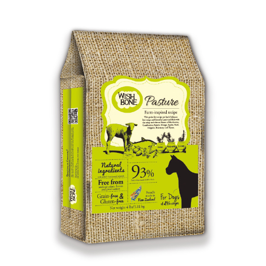 【 WISH BONE 】Grain Free Pasture For Dogs